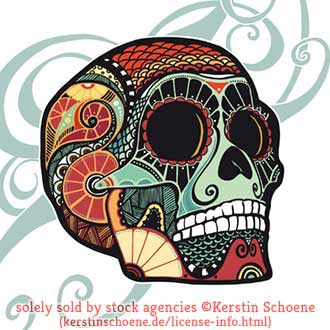 skull, vector, tattoo, stock, image, vector, artwork,