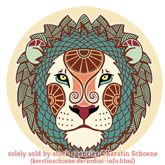 leo, lion, stock, image, zodiac, vector, art, tattoo
